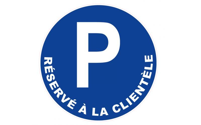 Parking privé, clients brico rabat